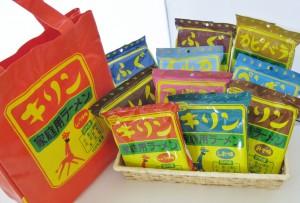 ★お楽しみトートバッグセット★(キリンラーメン10種類)
